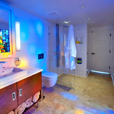 Contemporary Bathroom by Master Remodelers Inc.