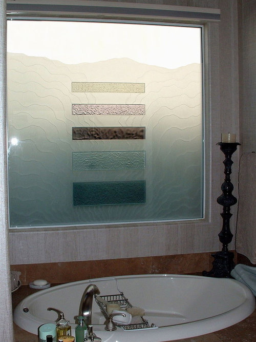 Bathroom windows frosted glass windows for Frosted glass window bathroom