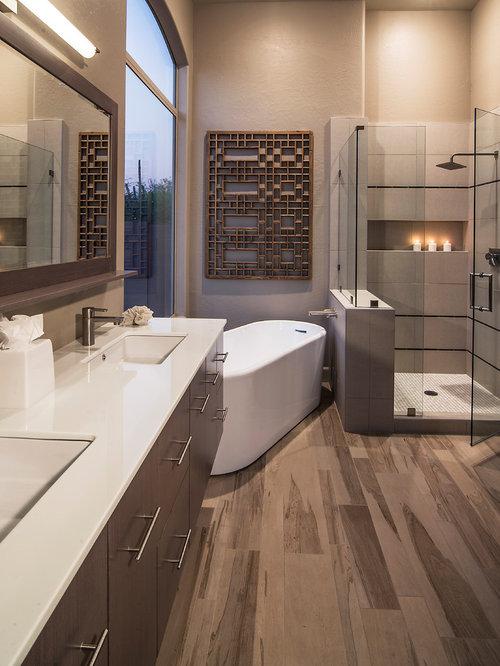 Phoenix bathroom design ideas remodels photos for Bath remodel in phoenix