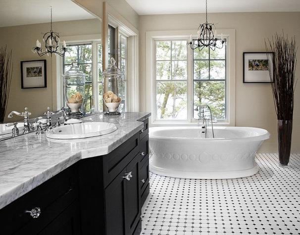 Tropical Bathroom by Lisa Petrole Photography