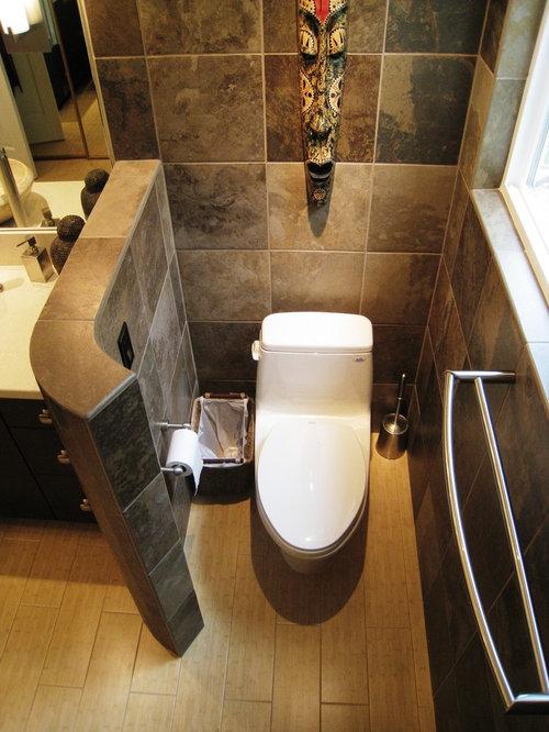 Enclosed Toilet Area Houzz