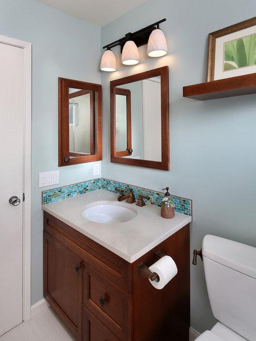 Small Tropical Bathroom Design Ideas Remodels Photos