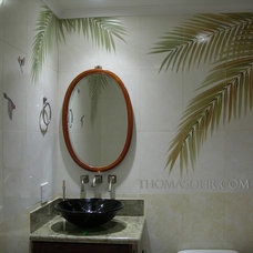asian bathroom by Thomas Deir Studios