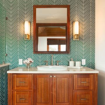 Tropical Guest Bath