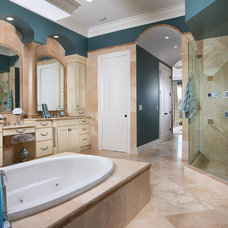 Tropical Bathroom by Savvy Surrounding Style