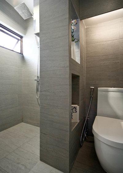 Contemporary Bathroom by The Design Abode