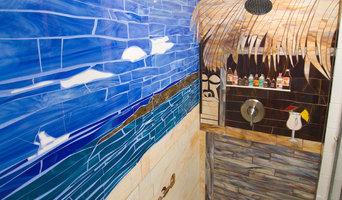 Tropical Shower Mosaic