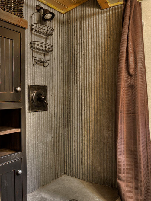 Rustic Shower Design Ideas Amp Remodel Pictures Houzz
