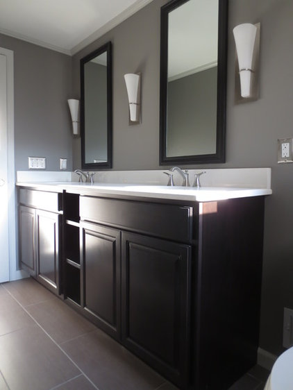 Traditional Bathroom by Christopher Thomas Construction