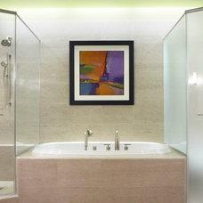 Contemporary Bathroom by M. GRACE DESIGNS, INC.