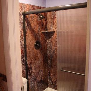 Inspiration för rustika badrum