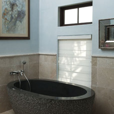 Eclectic Bathroom by Tongue & Groove