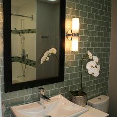 Modern Bathroom by Sarah Gallop Design Inc.