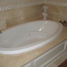 Traditional Bathroom by LaBruyere Stone