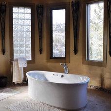 Mediterranean Bathroom by G.Elizabeth Designs