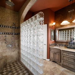 asian bathroom by DreamBuilders Home Remodeling