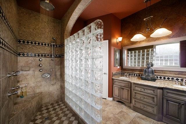Asian Bathroom by DreamBuilders Home Remodeling