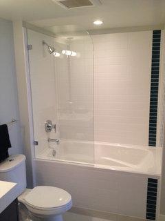 Open Shower Tub Combo