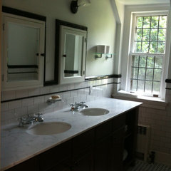 traditional bathroom Tudor bathroom