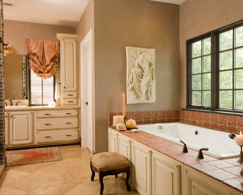 salle de bain victorienne avec du carrelage en ardoise photos et id es d co de salles de bain. Black Bedroom Furniture Sets. Home Design Ideas