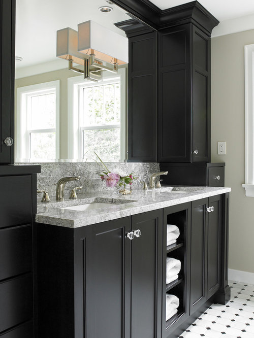 Master bathroom vanities home design ideas pictures for Master bathroom cabinet designs