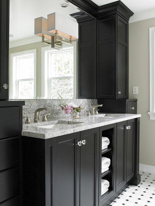 Tall Bathroom Vanity Storage Cabinets Houzz - Tall bathroom vanity cabinets