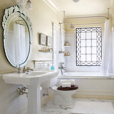 traditional bathroom by Panageries