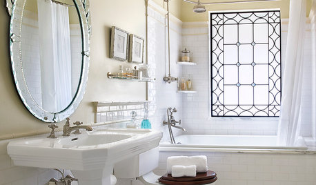 9 ideas para darle al baño (antiguo o nuevo) un toque modernista