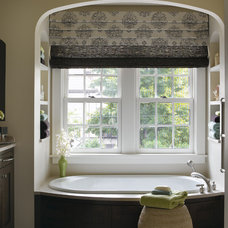 transitional bathroom by Lucy Interior Design