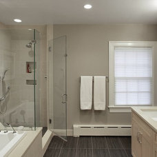 Traditional Bathroom by Gilday Renovations Design Build