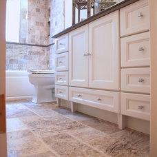 Traditional Bathroom by KraftMaster Renovations