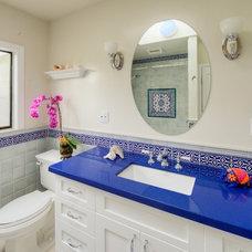 Mediterranean Bathroom by HDR Remodeling