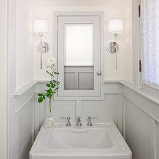 Transitional Bathroom by Jessica Helgerson Interior Design