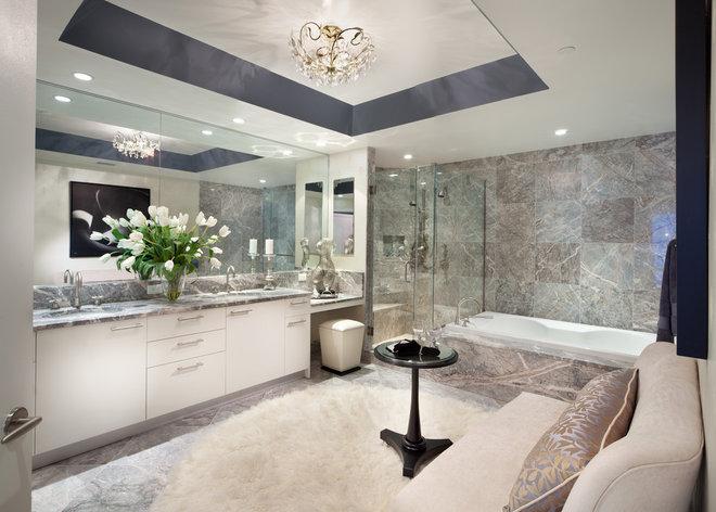 Contemporary Bathroom by Morgan Howarth Photography