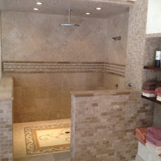 Craftsman Bathroom by Turner Tile & Stone