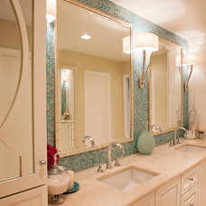 Traditional Bathroom by Cross Construction Company