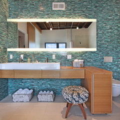 contemporary bathroom by Jeri Koegel Photography