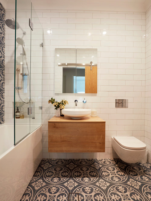 Small Bathroom Floor Tile | Houzz