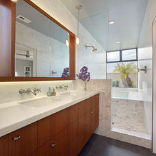 Contemporary Bathroom by Boor Bridges Architecture