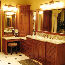 Mediterranean Bathroom by Kevin Martin