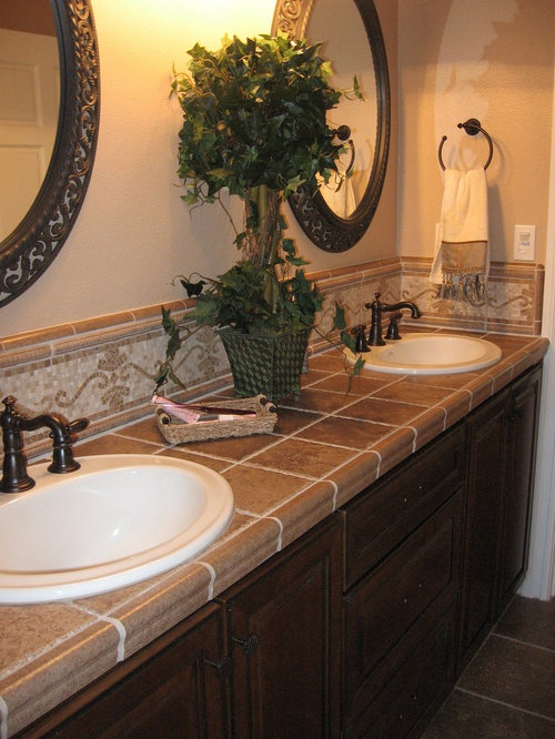Tuscan bathroom home design ideas pictures remodel and decor for Tuscan bathroom ideas