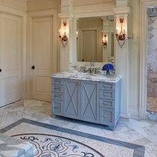 Mediterranean Bathroom by Great  Falls Distinctive Interiors Inc.
