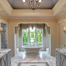 Mediterranean Bathroom by Great  Falls Distinctive Interiors Inc.