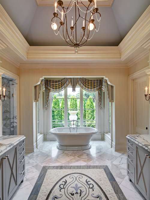Elegant master bathrooms ideas pictures remodel and decor for Elegant master bathroom ideas