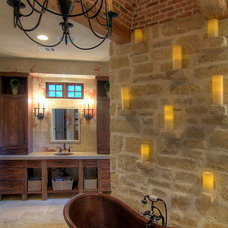 Mediterranean Bathroom by Eklektik Interiors