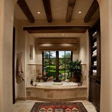 Mediterranean Bathroom by La Casa Builders Inc.