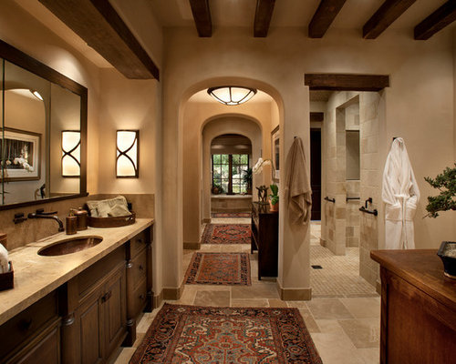 Travertine Floor Tile Home Design Ideas Pictures Remodel