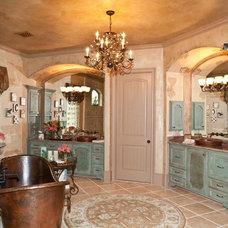Mediterranean Bathroom by Interiors by Sherry, Sherry Smith