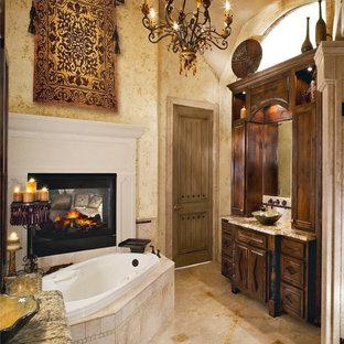 Bathroom   Traditional Bathroom Idea In Dallas With A Vessel Sink