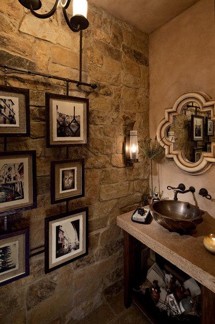 Mediterranean Bathroom by Rejoy Interiors, Inc.